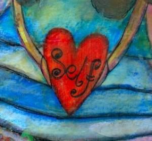 self love heart artwork, reiki, royal oak mi