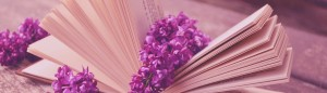 Lilac in Book slider